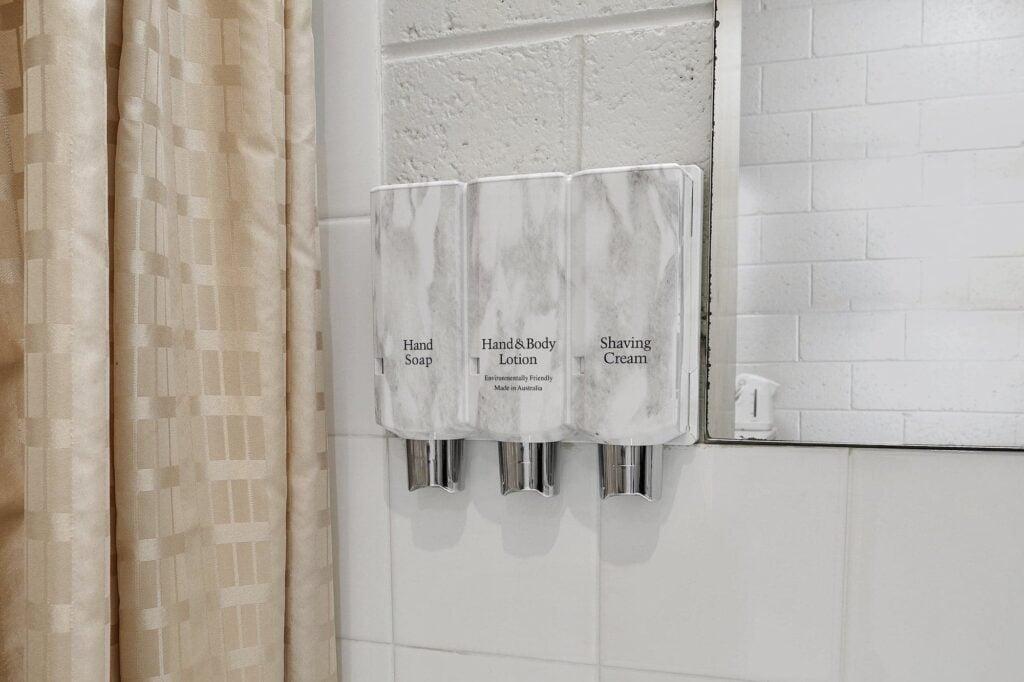 Soap conditioner cream Queen Superior - Tasmania Queenstown Accommodation - Gold Rush Inn