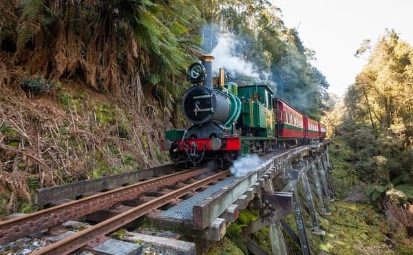 West coast wilderness railway - Queenstown Activities - Gold Rush Inn
